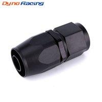 AN10 Прямой Поворотная масло топливного газа Линия шланга Конец Adapter Black Fast Flow Мазут оплеткой Fitting TT101285