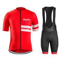 Hot Sale rapha cycling jersey Men' s style short sleeves...