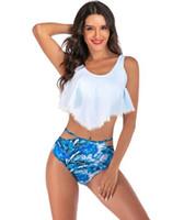 Haut 2019 maillot de bain jupe étudiant Split femmes robes de natation femmes maillot de bain maillot de bain maillot de bain femme Edge maillot de bain, Bikinis Set