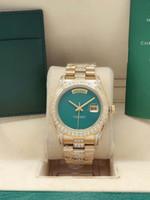 Männliche vollautomatische mechanische Uhr, mittlere Schale mit Bohrungen blank log, 41mm Doppel Kalender, 2813 Bewegung, 316 Feinstahl, Sport Leisu