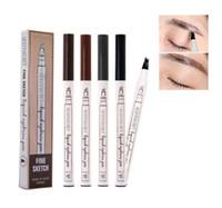 FedEx / DHL Nouveau maquillage de maquillage de maquillage de maquillage de maquillage Sourire Enhanceur Quatre sourcils Élativez-vous Étanche 4 couleurs
