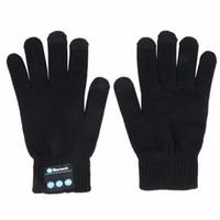 Bluetooth-Handschuhe, kabellose Bluetooth-Handschuhe, Winterhandschuhe mit Händen Call Sprechen Strickhandschuhe für Outdoor-Sport, Weihnachtsgeschenke