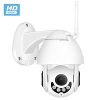 HOT MOTION Détection d'extérieur Dome PTZ 1080P iOS Android Téléphone mobile Vue sur WiFi IP Security CCTV P2P Caméra Network sans fil