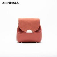 ARPIMALA Bucket Bags Small Chain Handbags Elegent Women Leather Shoulder Bag Lady France Style Cross Body Bag