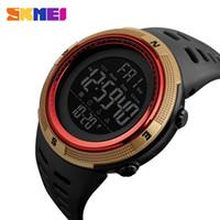 Skmei Men Sport Watch Dual Time Orologi Allarme Countdown Countdown 5bar Impermeabile orologio digitale Relogio Masculino Relogio 1251