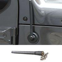 Siyah Araba Anten Araç Ford F150 için Anten değişmemiş Kısa Sinyal Anten İçin Jeep Wrangler JK JL 2007-2018 Modifiye / 2015 2009-2014 +