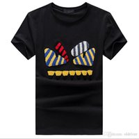 New Mens Summer Tees O- neck Short Sleeve Cartoon Pattern Cot...