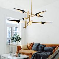 현대 펜 던 트 램프 금속 램프 갓 다시 바디 e14 실내 식사 나무 교수형 램프 등기구 suspendus 나무 주방 dhl