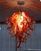중국의 유리 샹들리에 홈 인테리어 무라노 예술 빛으로 만든 풍선 최신 핫 판매 현대 호텔 로비 손으로 만든