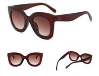 Europa und die großen Katzenaugen-Meter stare Sonnenbrille USA Sonnenbrille High-End-Damen klassische wilde Sonnenbrille Retro-Trends