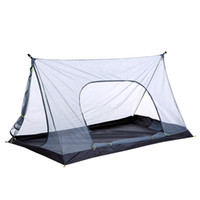 خفيفة شبكة الصيف خيمة 1-2 شخص خيمة التخييم في الهواء الطلق طارد صافي خيام شبكة الشاطئ