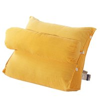 Large Bedside Dual Comfort Cushion Office Chair Soild Color ...