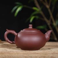 Chino Tetera De Arcilla Púrpura Yixing Tetera China Porcelana Cerámica Zisha Tea Pot Con Paquete de Caja de Regalo Buen Regalo Para Amigos