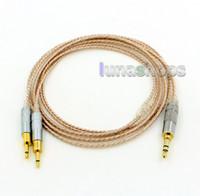 Hi-Res Gümüş Kaplama XLR 2.5mm 4.4mm 3.5mm Kulaklık Kulaklık Kablo Sennheiser HD700 LN006432 İçin