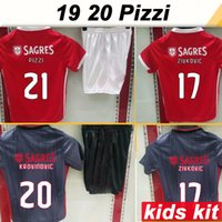 19 20 PIZZI SEFEROVIC Kids Kit Soccer Jerseys SALVIO Home Aw...