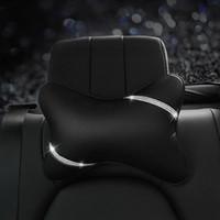 Cojines de asiento de automóvil modelando rinestones elegantes estilo niña duradera almohada lumbar almohada almohadas artesanía automóviles accesorios interiores