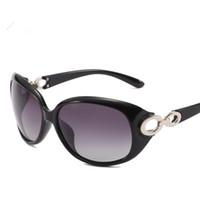 Moda Hot Adult donne occhiali da sole polarizzati di lusso rotonda Grande Struttura UV400 Marca Desinger Gradient Occhiali da sole sexy Goggle Occhiali