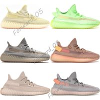 2019 Antlia Preto Static Synth Reflexivo Running Shoes Mens Womens Kanye West Lundmark Hyperspace Clay Designer Formadores Sneakers EUA 5-13