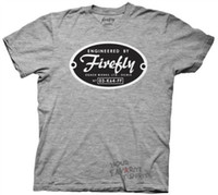 Firefly Engineered By Firefly licencia adulto camiseta