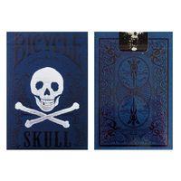 Fahrrad-Luxus-Schädel-Spielkarten Poker Size Deck Magic-Karten Close Up Bühne Zaubertricks Props für Magier