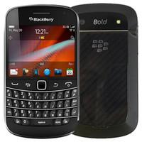 تم تجديده الأصل بلاك بيري بولد تاتش 9900 2.8 بوصة 8GB ROM كاميرا 5MP شاشة تعمل باللمس + لوحة المفاتيح QWERTY هاتف الجيل الثالث 3G مفتوح الذكية DHL 1PCS
