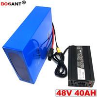 E Moto-Bateria Li-Ion Para 48 bis 40AH BBSHD Bafang 1800 m Do Motor Bicicleta Elétrica bateria Von Lítio 13 s 18650 48 v Frete Grátis