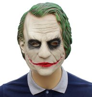 Halloween Batman Clown Mask Latex Head Cover Cover Dark Knight Mask Movie Puntelli WL1133
