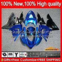 Кузова для KAWASAKI ZX 1000 CC factory greeen ZX 10 R ZX-10R 04 05 кузов 43HC.9 ZX10R 04 05 ZX1000CC 1000CC ZX 10R 2004 2005 комплект обтекателя