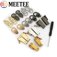 Meetee Metal Bag Clip Hanging Side Hook Buckles Screw Fittin...