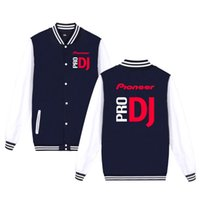 Pioneer Pro Dj printed fashion sport Baseball Jacket men wom...