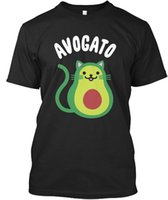 Avogato Cat Lover And Vegan - T- shirt Élégant Men Women Unis...