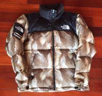aa5c4bdc03aa0 New Arrival. S*P FACES BOX LOGO PREMES Down jacket Fur Print Nuptse Coats  Couple coat Winter Outerwear Fashion ...