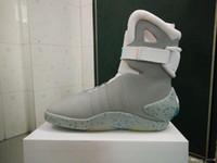 أحذية رباط الحذاء التلقائي العودة إلى مستقبل أحذية رياضية رجالية كرة السلة