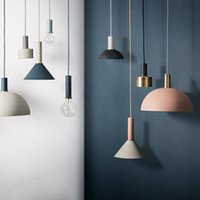 Nordic Freely Combine Pendant Lighting Colorful Loft Droplig...