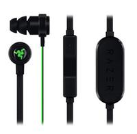2019 Razer Hammerhead BT bluetooth InEar Kulaklık Kulaklık Mikrofon + Perakende Kutusu Gaming Headset Ile En kaliteli Gürültü Yalıtım