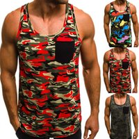 Mens Sleeveless Bodybuilding Tank Tops Gym T- Shirt Muscle Sp...