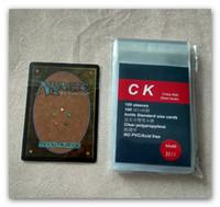 MTG بطاقة سحرية الأكمام شفافة 64x89 مم
