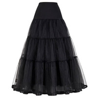 6eb44a52934032 Acheter Mode Mariage Mariage Petticoats Femmes Mariage Underskirt ...