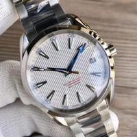 Relojes de Lujo pulsera de acero inoxidable serie Aqua Terra 150 Maestro de acero inoxidable 23110422101004 hombre del reloj del reloj