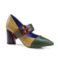 Bombas última mujer nuevos zapatos de vestir de cuero real famosa en todo el mundo femenino sandalias al aire libre zapatos de tacón alto las mujeres señora de la manera club de zapatos de fiesta