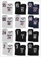새로운 농구 곤자가 불독 유니폼 (33) 킬리언 Tillie (21) 루이 Hachimura 32 자크 콜린스 (23) 자크 Norvell 주니어 (22) 왓슨 (1) 사용자 저지