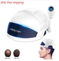 DHL transporte rápido crescimento livre Laser cabelo Regrowth Homens Mulheres Cabelo Cap Capacete Laser Tratamento Anti perda de cabelo Dispositivo
