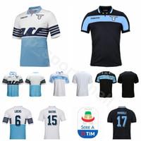 5c864ab8a9b Wholesale lazio jersey resale online - 2018 Lazio IMMOBILE Jersey Men Soccer  LUIS ALBERTO SERGEJ BASTA