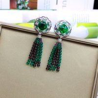 luxury Designer Women Earrings jewelry colorful elegant Dang...