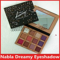 New NABLA Dreaming 12colors Eyeshadow Palette Shimmer Matte Eye Shadow Make up Cosmetici Spedizione DHL di alta qualità