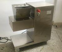 Envío libre 2 Piezas / Lote QW Modelo restaurante cortador de la carne por pollo / Carne / Carne vertical multifuncional de la máquina de corte