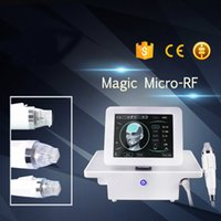 Microneedle RF-Maschine Gebrochene RF Gesicht Maschine für Entfernung von Narben Akne-Behandlung Faltenentfernung Thermage Radio Frequency