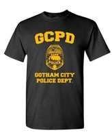 GCPD GOTHAM CITY POLICE DEPT - arkham game - Mens Cotton T- S...