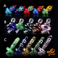 Glass Carb Cap 3 Styles for Glass Bongs Quartz banger Nails ...