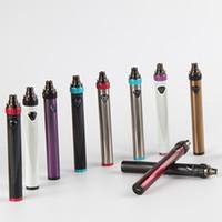 회 전자 3S vape 배터리 전자 담배 vape 펜 기화기 펜 배터리 USB 조인트 510 스레드 배터리 1600mAh 가변 전압 E Cig 배터리